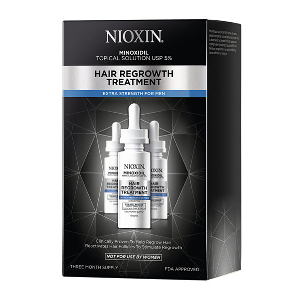 Nioxin® Hair Regrowth Treatment for Men, 90-Day Supply - 6 oz.