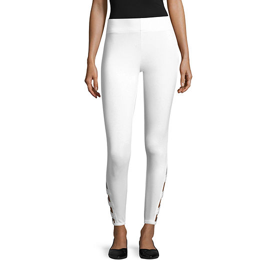 Mixit Solid Legging With Ankle Detail