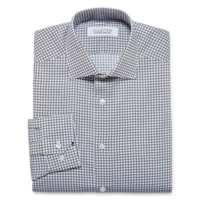 Collection by Michael Strahan Cotton Stretch Long Sleeve Dress Shirt