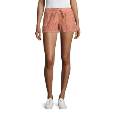 "Rewind 3"" Lace Soft Shorts-Juniors"