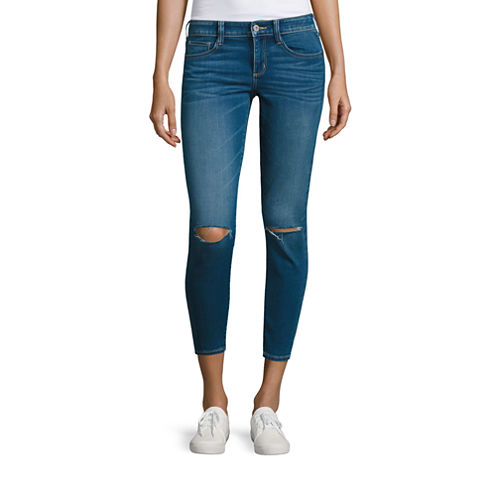 Arizona Cropped Pants-Juniors