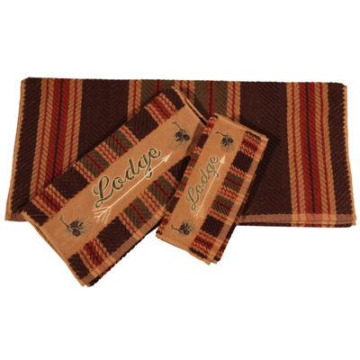 Hiend Accents Lodge 3-pc. Bath Towel Set