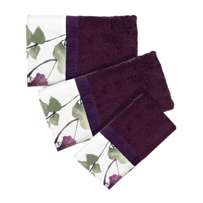Popular Bath Jasmine 3-pc. Bath Towel Set