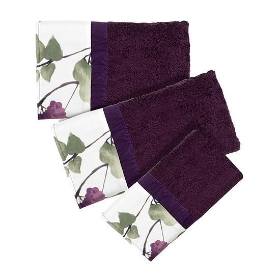 Popular Bath Jasmine 3-pc. Bath Towel Set