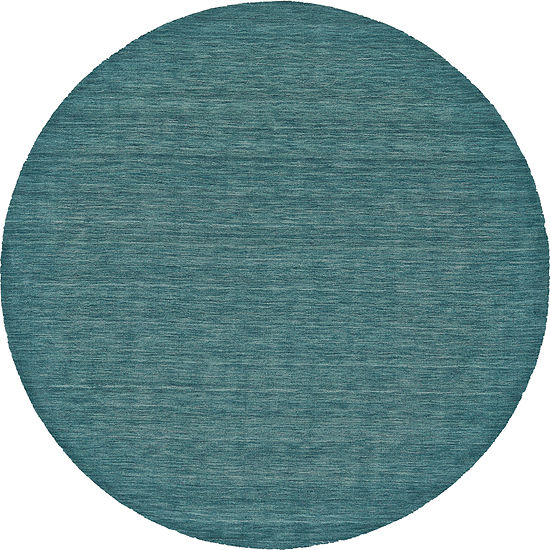 Weave And Wander Moderna Hooked Round Rugs