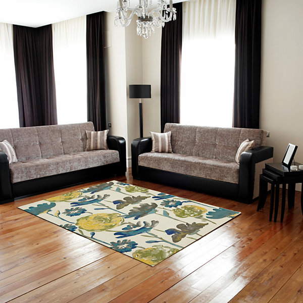Room Envy Adana Hooked Rectangular Rugs