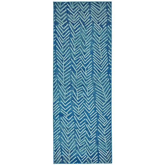 Weave and Wander Zara Hooked Rectangular Rug