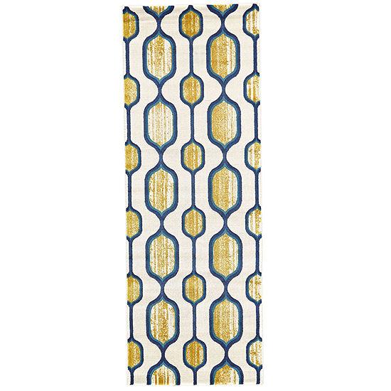 Weave And Wander Mersin Hooked Rectangular Indoor Rugs