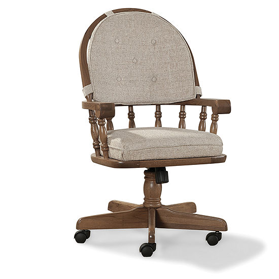 Jcpenney Dining Chairs: Oakmont Swivel Chair, Color: Chestnut