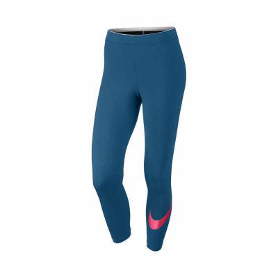 Nike Swoosh Cropped Pants
