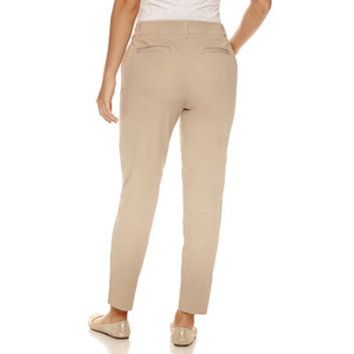 St. John's Bay Slim Fit Ankle Pants