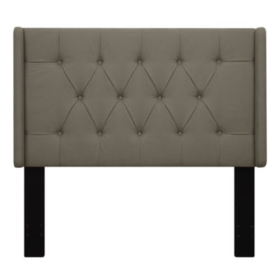 Shelter Button Tufted Upholstered Headboard