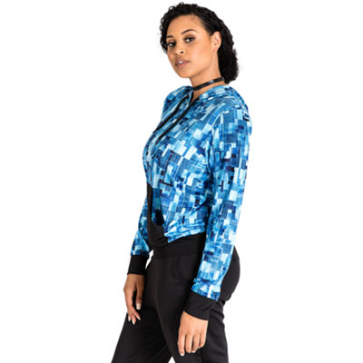 Poetic Justice Printed Pull Over Active Hoody