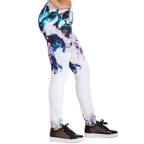 Poetice Justice Curvy Printed Active Track Pant