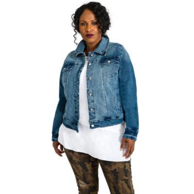 Poetic Justice Vintage Denim Jacket - Plus