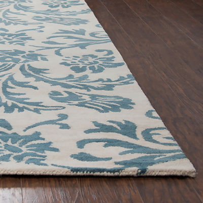Rizzy Home Arden Loft-Crown Way Collection Emily Floral Area Rug
