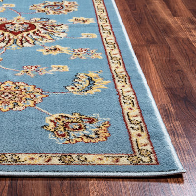 Rizzy Home Bay Side Collection Freya Oriental AreaRug