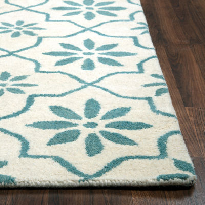 Rizzy Home Opus Collection Katie Floral Area Rug