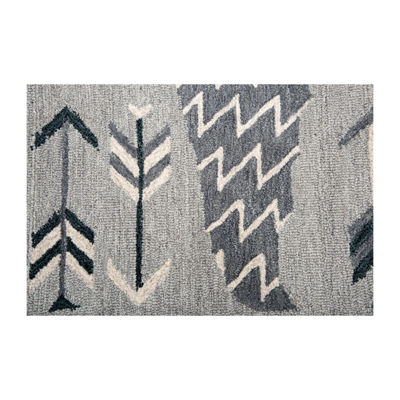 Rizzy Home Mesa Collection Elyson Hand-Tufted Various Area Rug