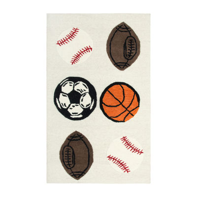Rizzy Home Play Day Collection Sedona Hand-Tufted Novelty Accent Rug