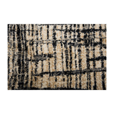 Rizzy Home Xceed Collection Zainab Abstract Power-Loomed Area Rug