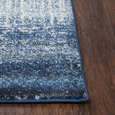 Rizzy Home Encore Collection Zaria Abstract Power-Loomed Area Rug