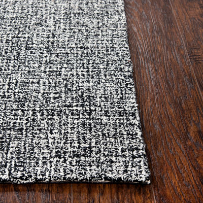 Rizzy Home Brindleton Collection Zelie Grid Hand-Tufted Rug