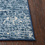 Rizzy Home Encore Collection Zoey Abstract Power-Loomed Area Rug