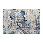 Rizzy Home Encore Collection Anna Medallion Area Rug