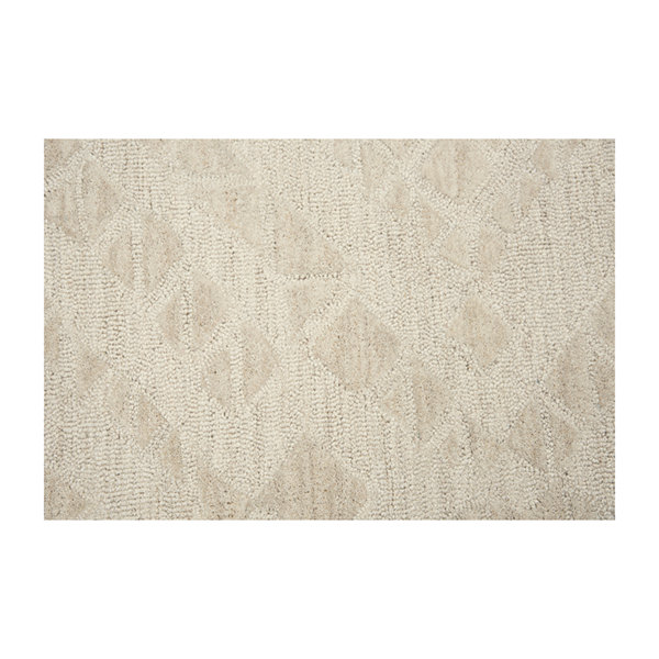 Rizzy Home Fifth Avenue Collection Zuri Diamond Hand-Tufted Area Rug