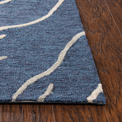 Rizzy Home Arden Loft-Sandhurst Collection CullenHand-Tufted Abstract Area Rug