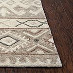 Rizzy Home Arden Loft-Sandhurst Collection Edwin Hand-Tufted Geometric Area Rug