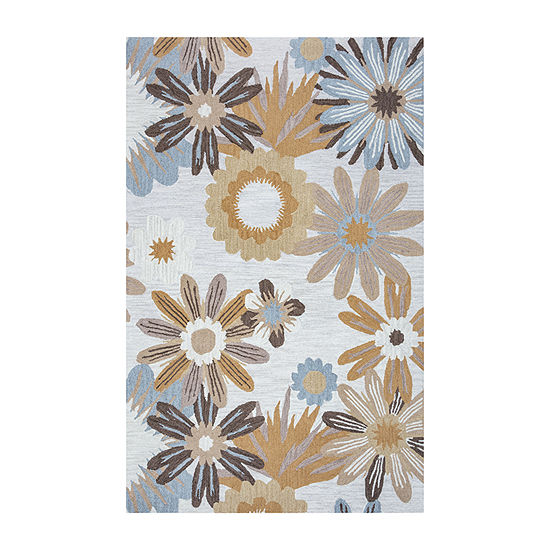 Rizzy Home Arden Loft-River Hill Collection Tiana Hand-Tufted Florla Rug