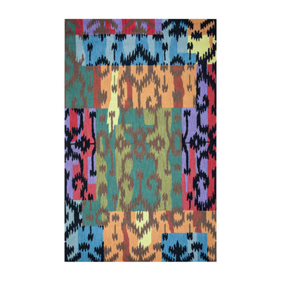 Rizzy Home Arden Loft-River Hill Collection Tiffany Hand-Tufted Abstract Rug