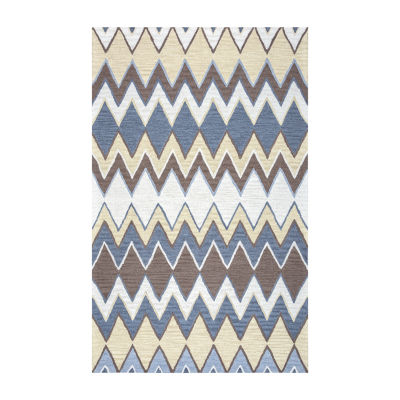 Rizzy Home Arden Loft-River Hill Collection Tori Hand-Tufted Chevron Rug