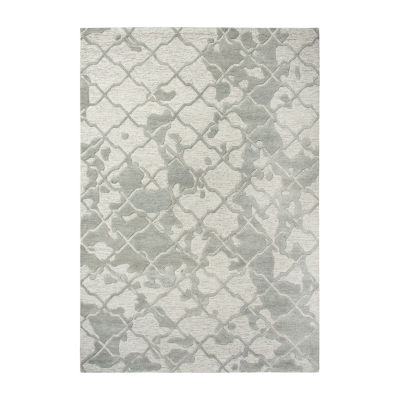 Rizzy Home Arden Loft-Sandhurst Collection Zaria Hand-Tufted Abstract Area Rug