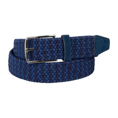 Dallas + Main Multi Color Stretch Web Casual Belt