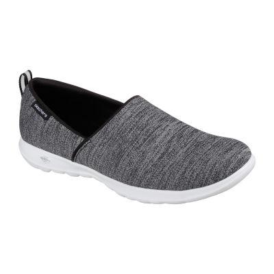 Skechers Go Walk Lite Womens Walking Shoes Slip-on