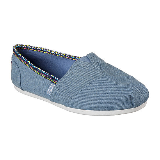 Skechers Bobs Womens Pow Wow Slip-On Shoe Closed Toe