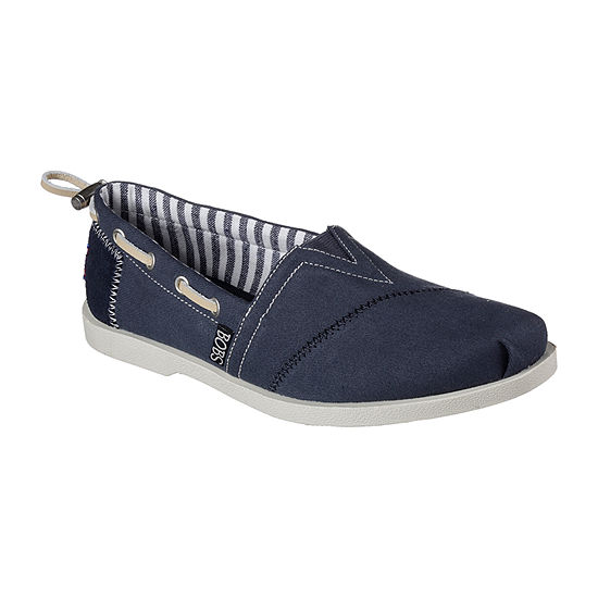 Skechers Bobs Womens Chill Luxe Traveler Slip-On Shoe Closed Toe