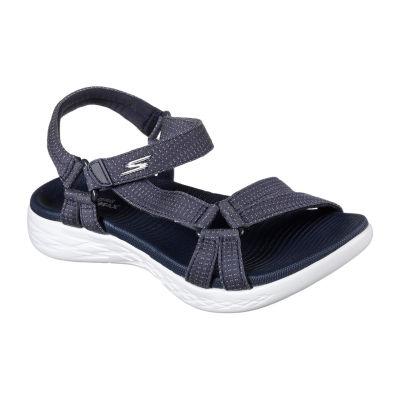 Skechers Womens Brilliancy Strap Sandals