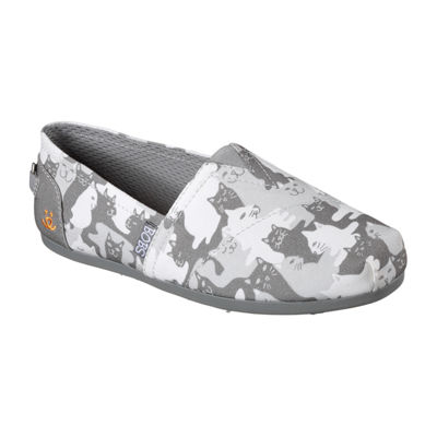 Skechers Bobs Catmouflage Womens Slip-On Shoes