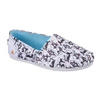 Skechers Bobs Womens Bobs Pup Smarts Slip-On Shoes Slip-on Closed Toe