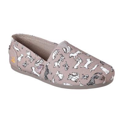 Skechers Bobs Womens Bobs Pup Smarts Slip-On Shoe Closed Toe