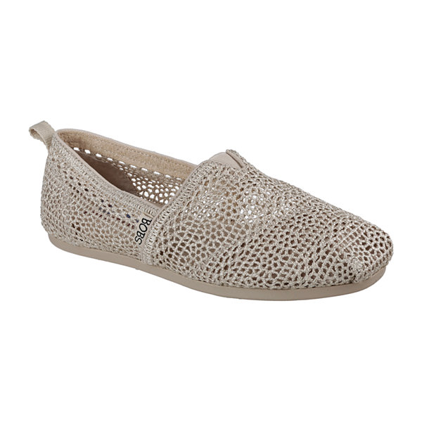 Skechers Bobs Daisy And Dot Womens Slip-On Shoes