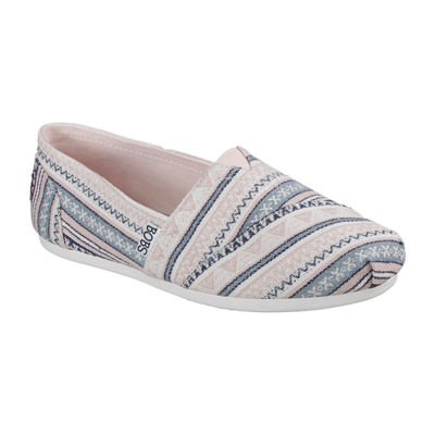 Skechers Bobs Bobs Plush Womens Sneakers Slip-on