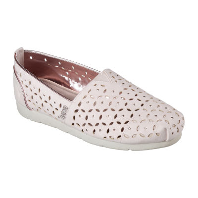 Skechers Bobs By Chance Womens Slip-On Shoes