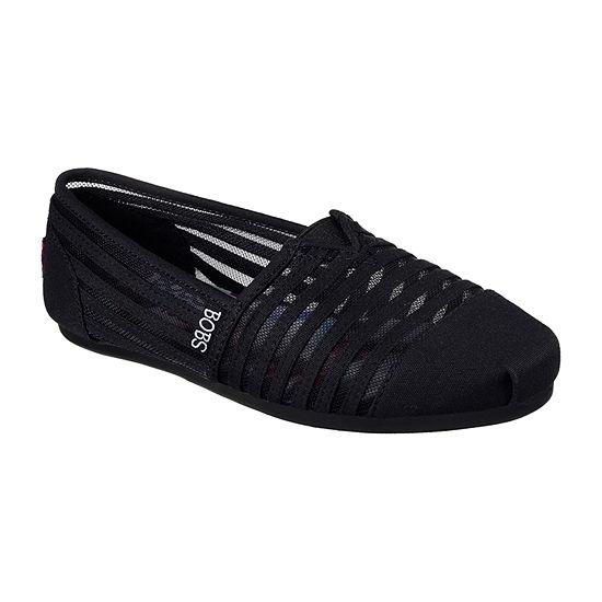 Skechers Bobs Adorbs Womens Walking Shoes Slip-on