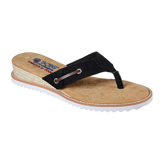 Skechers Womens Desert Kiss Off Grid Flat Sandals