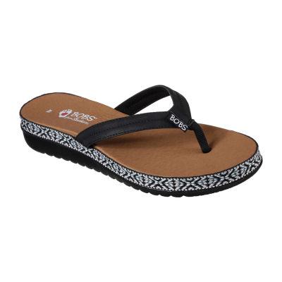 Skechers Bobs Sunkiss Womens Flat Sandals